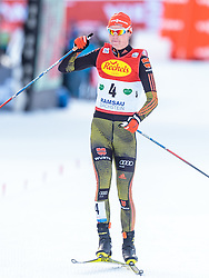 17.12.2016, Nordische Arena, Ramsau, AUT, FIS Weltcup Nordische Kombination, Langlauf, im Bild Vinzenz Geiger (GER, 4. Platz) // 4th Vinzenz Geiger of Germany during Cross Country Competition of FIS Nordic Combined World Cup, at the Nordic Arena in Ramsau, Austria on 2016/12/17. EXPA Pictures © 2016, PhotoCredit: EXPA/ JFK