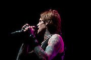 Buckcherry performing at the Covelli Centre in Youngstown, OH on February 8, 2011 on the Jagermeister Music Tour
