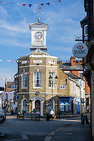 Town Centre, Brigg, North East Lincolnshire, United Kingdom, 13 September, 2016. Pictured: