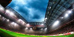 14-08-2018 NED: Champions League AFC Ajax - Standard de Liege, Amsterdam<br /> Third Qualifying Round,  3-0 victory Ajax during the UEFA Champions League match between Ajax v Standard Luik at the Johan Cruijff Arena / Johan Cruijff Arena
