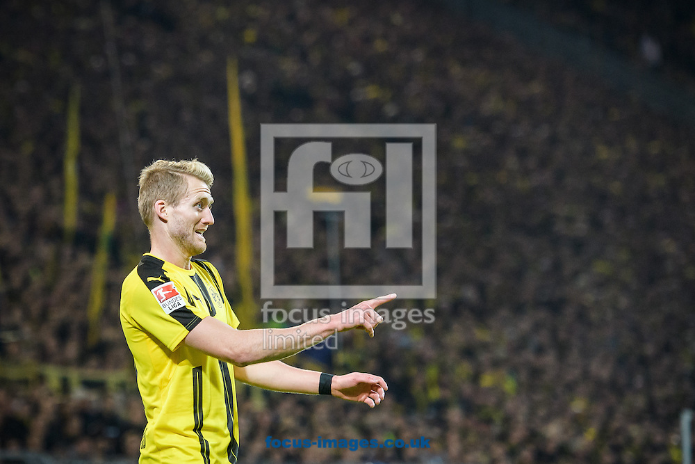 Andre Schuerrle of Borussia Dortmund during the Bundesliga match at Signal Iduna Park, Dortmund<br /> Picture by EXPA Pictures/Focus Images Ltd 07814482222<br /> 29/10/2016<br /> *** UK &amp; IRELAND ONLY ***<br /> EXPA-EIB-161030-0062.jpg