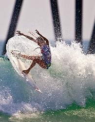 HUNTINGTON BEACH, CA - JULY 19: Alana Blanchard (USA) -- At the Hurley US Open of Surfing 2009 Nike 6.0 Pro Semi-finals Heat 2. Photo: Eduardo E. Silva
