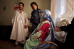 "Kandahar policewoman Malalai Kakar arrests a man who repeatedly stabbed Jamila, his 15-year-old wife and mother of his two children after she disobeyed him. When asked what would happen to the husband for this crime, ""Nothing,"" Kakar said. ""Men are kings here.""<br />