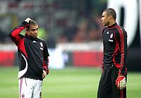 "Ronaldo e Nelson Dida (Milan)<br />Italian ""Serie A"" 2006-2007<br />03 Mar 2007 (Match Day 27)<br />Milan-Chievo (3-1)<br />""Giuseppe Meazza"" Stadium-Milano-Italy<br />Photographer:Jennifer Lorenzini INSIDE"