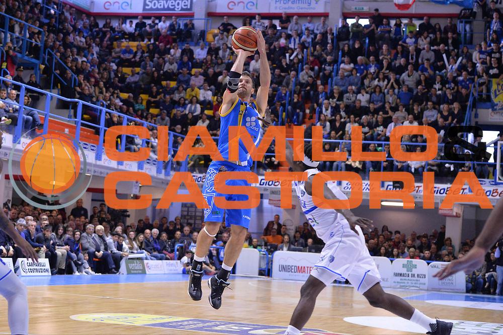 Drake Diener<br />Enel Brindisi - Betaland Capo D'Orlando<br />LegaBasket 2016/2017<br />Brindisi 30/04/2017<br />Foto Ciamillo-Castoria