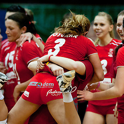 20120104: SLO, Volleyball - Final game of Slovenia Women Volleyball Cup, NKBM Branik vs Calcit