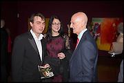 ANDY DANCE; KELLY PEAKE; ALLEN JONES, Allen Jones private view. Royal Academy,  London. 11 November  2014.