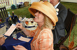 INGRID SEWARD at Ladies Day at Epsom Racecourse, Surrey during the Derby Festival on 3rd June 2005.<br /><br />NON EXCLUSIVE - WORLD RIGHTS