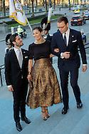 Stockholm-29-4-2016 <br /> <br /> 70th birthday celebration of King Carl Gustaf of Sweden.<br /> <br /> Royal Operas special concert Nordic Museum<br /> <br /> <br /> COPYRIGHT/Royalportraits Europe/BERNARD RUEBSAMEN