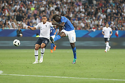 June 1, 2018 - Nice, France - Mario Balotelli (Italy) in action during the friendly football match between France and Italy at Allianz Riviera stadium on June 01, 2018 in Nice, France. (Credit Image: © Massimiliano Ferraro/NurPhoto via ZUMA Press)