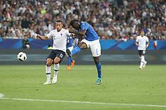 France v Italy - 01 June 2018