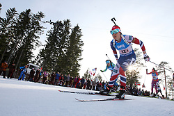 11.03.2016, Holmenkollen, Oslo, NOR, IBU Weltmeisterschaft Biathlon, Oslo, 4x6 Km Staffel, Damen, im Bild Synnoeve Solemdal (NOR) // during 4x6 km women relay of the IBU World Championships, Oslo 2016 at the Holmenkollen in Oslo, Norway on 2016/03/11. EXPA Pictures © 2016, PhotoCredit: EXPA/ Newspix/ Tomasz Jastrzebowski<br /> <br /> *****ATTENTION - for AUT, SLO, CRO, SRB, BIH, MAZ, TUR, SUI, SWE only*****
