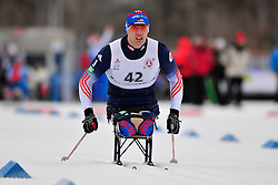 SOULE Andrew, USA at the 2014 IPC Nordic Skiing World Cup Finals - Sprint