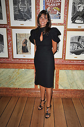 COUNTESS DEBONAIRE VON BISMARCK at a lunch hosted by Roger Viver in honour of Bruno Frisoni their creative director, held at Harry's Bar, 26 South Audley Street, London on 31st March 2011.