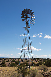 windmill in Santa Fe, NM