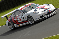 2009 Porsche Carrera Cup Great Britain.  Knockhill, Scotland, United Kingdom.  15th-16th August 2009.  (13) - Glenn McMenamin - Parr Motorsport.  World Copyright: Peter Taylor/PSP. Copy of publication required for printed pictures. Every used picture is fee-liable.