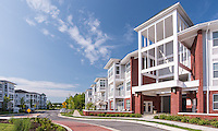 Architectural Image of the Links at Gleneagles Apartments in Waldorf Maryland by Jeffrey Sauers of Commercial Photographics, Architectural Photo Artistry in Washington DC, Virginia to Florida and PA to New England