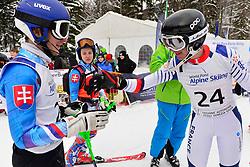 Super Combined and Super G, CIVADE Thomas Guide: LARMET Kerwan, B3, FRA, KUBACKA Marek Guide: ZATOVICOVA Maria, B1, SVK at the WPAS_2019 Alpine Skiing World Championships, Kranjska Gora, Slovenia