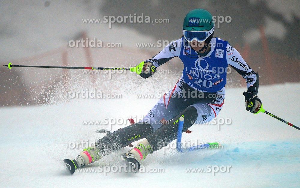 29.12.2013, Hochstein, Lienz, AUT, FIS Weltcup Ski Alpin, Lienz, Damen, Slalom 1. Durchgang, im Bild Carmen Thalmann (AUT) // Carmen Thalmann (AUT) during ladies Slalom 1st run of FIS Ski Alpine Worldcup at Hochstein in Lienz, Austria on 2013/12/29. EXPA Pictures © 2013, PhotoCredit: EXPA/ Erich Spiess