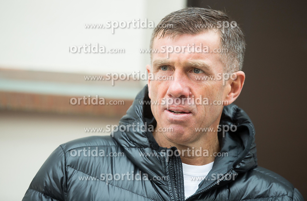 Srecko Katanec, head coach of Slovenia National Football team after the press conference prior to the football match Slovenia vs. San Marino, on March 16, 2015 in Ljubljana, Slovenia. Photo by Vid Ponikvar / Sportida