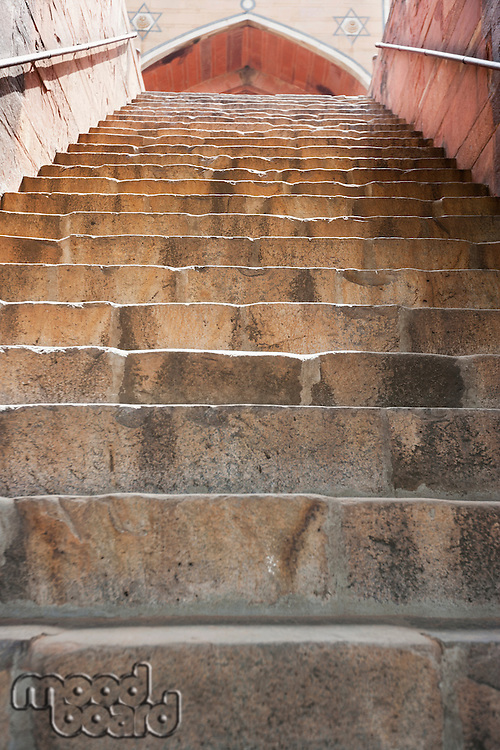 Stairways leading to Humayun's Tomb, New Delhi, India