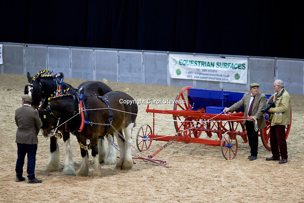 Shire Horse Society Spring Show 2017  Agricultural Implements