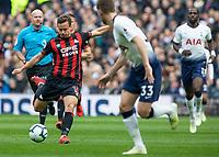 Football - 2018 / 2019 Premier League - Tottenham Hotspur vs. Huddersfield Town<br /> <br /> Chris Lowe (Huddersfield Town) with an attempt at the Tottenham goal at The Tottenham Hotspur Stadium.<br /> <br /> COLORSPORT/DANIEL BEARHAM