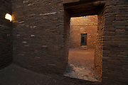 Exploring Chaco Canyon, one of Northern New Mexico's largest cultural sites, named Chaco Culture National Historic Park.