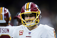 NEW ORLEANS, LA - NOVEMBER 19:  Kirk Cousins #8 of the Washington Redskins on the sidelines during a game against the New Orleans Saints at Mercedes-Benz Superdome on November 19, 2017 in New Orleans, Louisiana.  Saints defeated the Redskins 34-31.  (Photo by Wesley Hitt/Getty Images) *** Local Caption *** Kirk Cousins