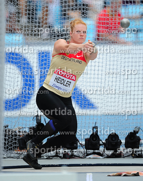 02.09.2011, Daegu Stadium, Daegu, KOR, IAAF, World Championships 2011, im Bild BETTY HEIDLER, EXPA Pictures © 2011, PhotoCredit: EXPA/ Newspix/ MAREK BICZYK +++++ ATTENTION - FOR AUSTRIA/ AUT, SLOVENIA/ SLO, SERBIA/ SRB an CROATIA/ CRO, SWISS/ SUI and SWEDEN/ SWE CLIENT ONLY +++++