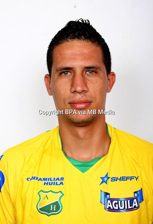 Colombia League - Postobom Liga 2014-2015 -<br /> Club Deportivo Atletico Huila - Colombia / <br /> Luis Eduardo Duran