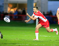 Josh Hodgson of Hull Kingston Rovers in action during the First Utility Super League match at Craven Park, Hull<br /> Picture by Richard Gould/Focus Images Ltd +44 7855 403186<br /> 17/04/2014