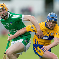 Clare's Padraic Collins V Limerick's Richie English