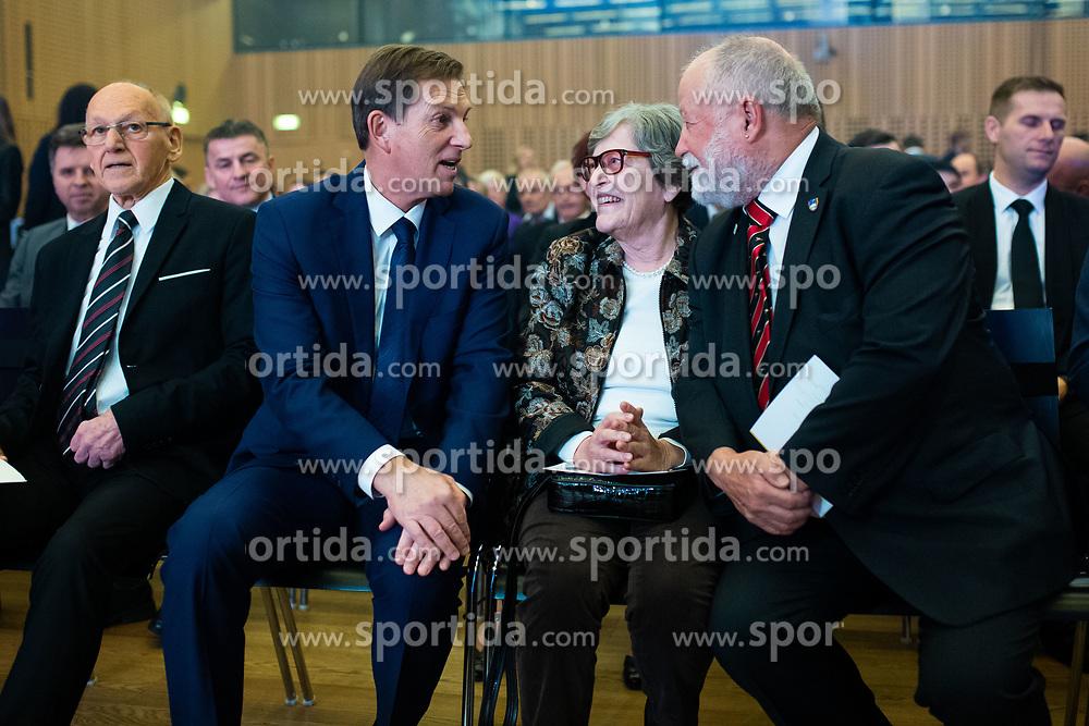 Miroslav Cerar and Miro Cerar at 55th Annual Awards of Stanko Bloudek for sports achievements in Slovenia in year 2018 on February 4, 2020 in Brdo Congress Center, Kranj , Slovenia. Photo by Grega Valancic / Sportida