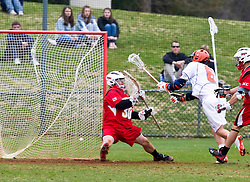 The #9 ranked Maryland Terrapins fell to the #1 ranked Virginia Cavaliers 10 in 7 overtimes in Men's NCAA Lacrosse at Klockner Stadium on the Grounds of the University of Virginia in Charlottesville, VA on March 28, 2009.