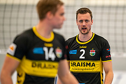 Jeroen Rauwerink #2 of Dynamo in action in the second round between Sliedrecht Sport and Draisma Dynamo on February 29, 2020 in sports hall de Basis, Sliedrecht