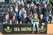 Sea Shepherd during the EFL Sky Bet League 2 match between Forest Green Rovers and Milton Keynes Dons at the New Lawn, Forest Green, United Kingdom on 30 March 2019.