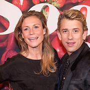 NLD/Amsterdam/20131202 - Premiere Soof, Sophie Hilbrand en partner Waldemar Torenstra