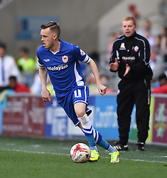 Cardiff City's Craig Noone in action during the Sky Bet Championship match between Cardiff City and Bolton Wanderers at Cardiff City Stadium on 6 April 2015 in Cardiff, Wales - Photo mandatory by-line: Paul Knight/JMP - Mobile: 07966 386802 - 06/04/2015 - SPORT - Football - Cardiff - Cardiff City Stadium - Cardiff City v Bolton Wanderers - Sky Bet Championship