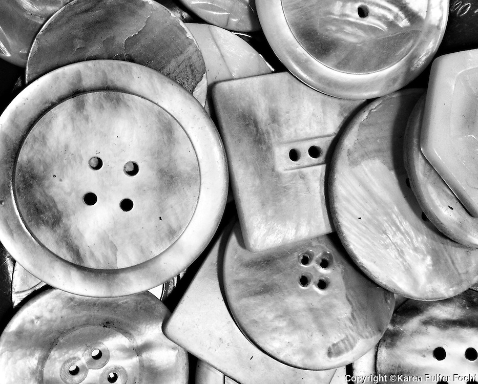 Buttons<br /> <br /> <br /> <br /> <br /> ALL RIGHTS RESERVED NOT FOR USE WITHOUT PERMISSION OF PHOTOGRAPHER KAREN PULFER FOCHT