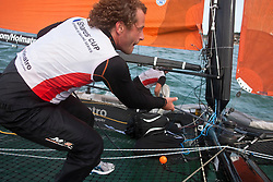 © Sander van der Borch. Cowes - England, first of August 2009. iShares cup. First day of racing. Onboard Holmatro.