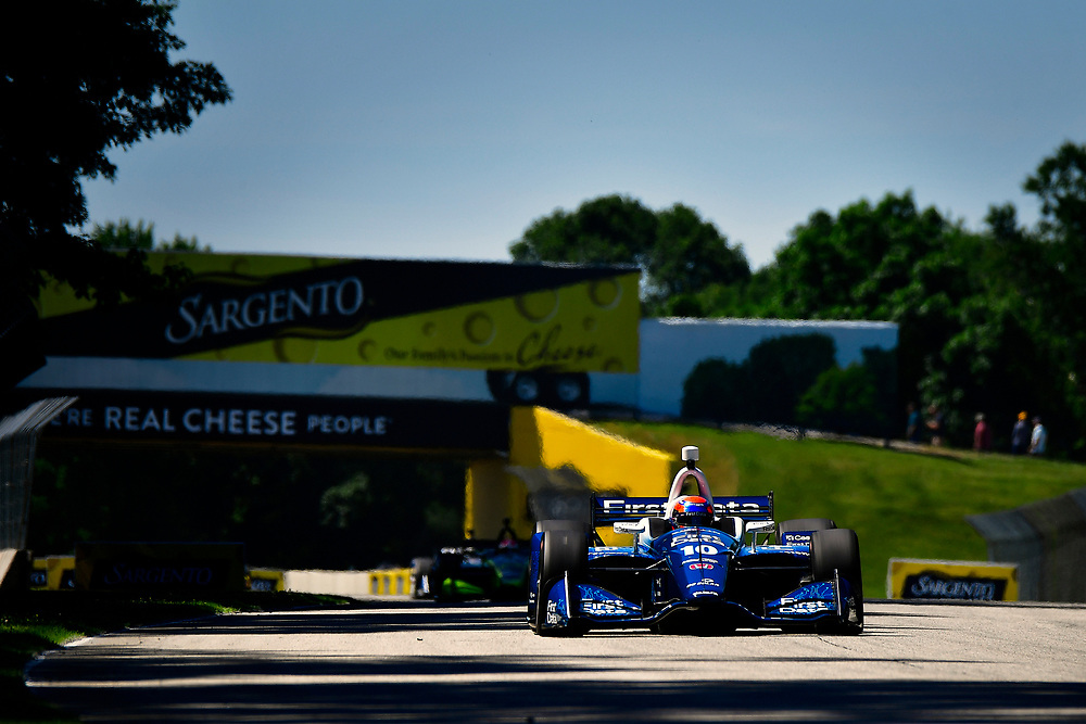 Ed Jones, Chip Ganassi Racing Honda<br /> Saturday 23 June 2018<br /> KOHLER Grand Prix at Road America<br /> Verizon IndyCar Series<br /> Road America WI USA<br /> World Copyright: Scott R LePage