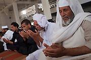 Friday prayer in the mosque of Zintan.