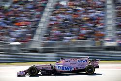 October 22, 2017 - Austin, United States of America - Motorsports: FIA Formula One World Championship 2017, Grand Prix of United States, ..#11 Sergio Perez (MEX, Sahara Force India F1 Team) (Credit Image: © Hoch Zwei via ZUMA Wire)