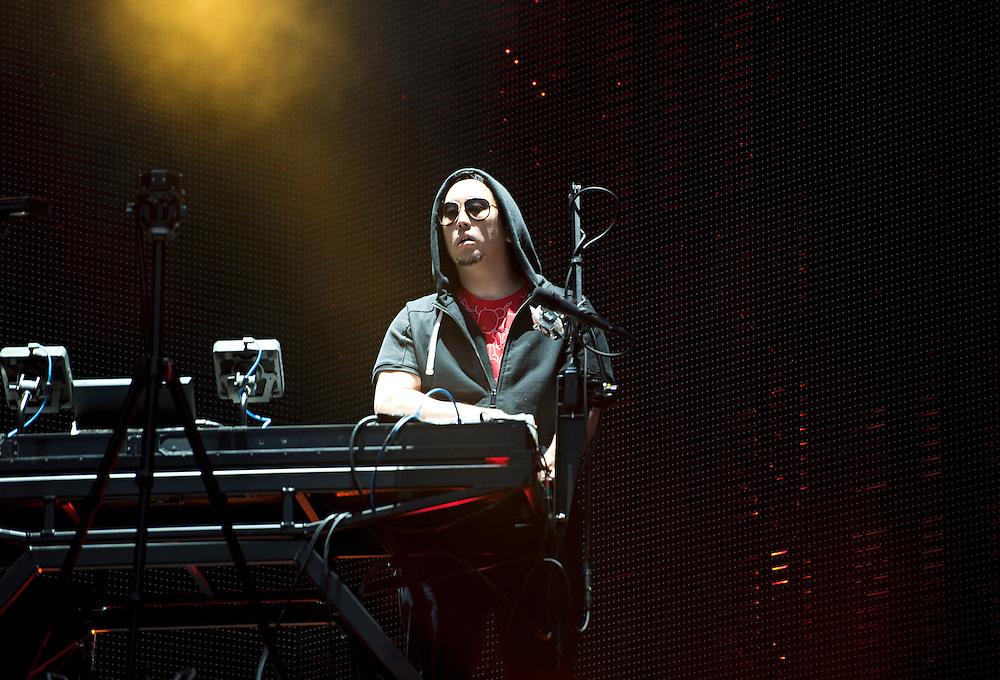 Headlining Download Festival 2014.