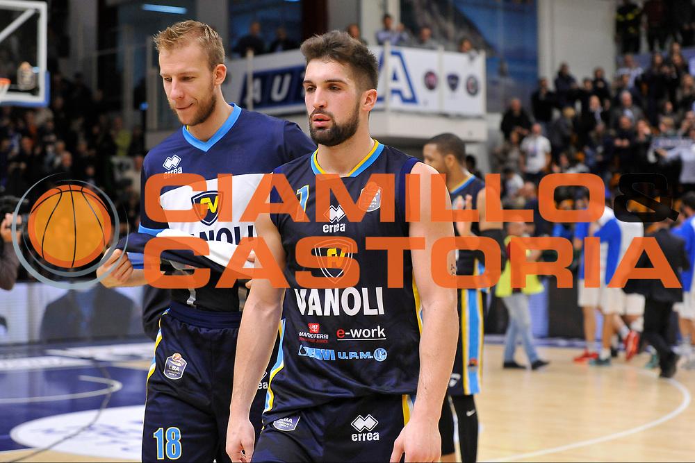 Jakub Wojciechowski - Fabio Mian<br /> Banco di Sardegna Dinamo Sassari - Vanoli Cremona<br /> LegaBasket Serie A LBA Poste Mobile 2016/2017<br /> Sassari 26/11/2016<br /> Foto Ciamillo-Castoria