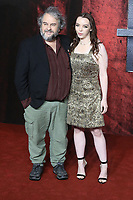 Peter Jackson, Katie Jackson, Mortal Engines - World Premiere, Leicester Square, London, UK, 27 November 2018, Photo by Richard Goldschmidt