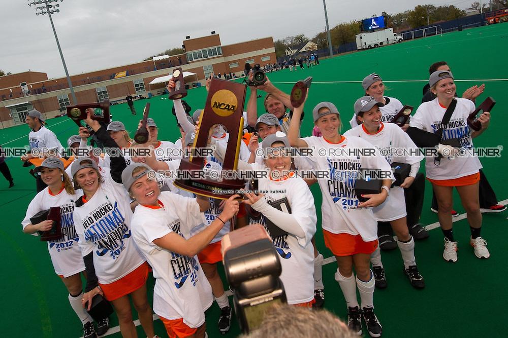Princeton University defeats University of North Carolina 3-2 in 2012 NCAA Division 1 Field Hockey Championship