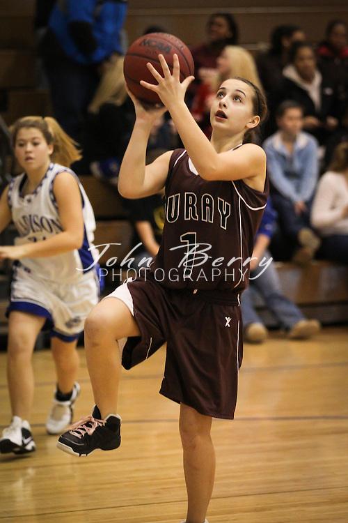 December/22/10:  MCHS JV Girl's Basketball vs Luray