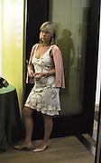 Nettie Mason. ( Mrs. Nick Mason) Reception at the Tate Modern  to celebrate the first anniversary. 10 May 2001. © Copyright Photograph by Dafydd Jones 66 Stockwell Park Rd. London SW9 0DA Tel 020 7733 0108 www.dafjones.com